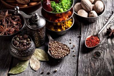 Saveurs et épices de l'Inde
